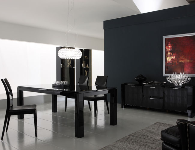 Rossetto Black Diamond Dining Room